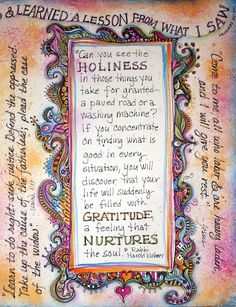 visual blessings: Gratitude Note to Self: Keep the Main Thing…