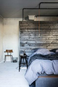 10 INDUSTRIAL INTERIORS BEDROOM IDEAS_see more inspiring articles at http://vintageindustrialstyle.com/industrial-interiors-bedroom-ideas/