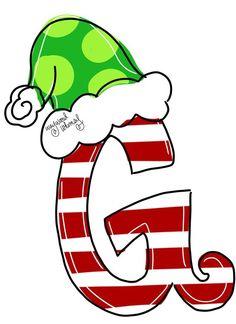 Christmas Canvas, Christmas Art, Christmas Holidays, Christmas Drawing, Christmas Paintings, Grinch Christmas Decorations, Door Hanger Template, Grinch Party, Navidad Diy