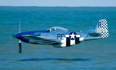 "Looooow pass !! North American P-51 ""Mustang"""
