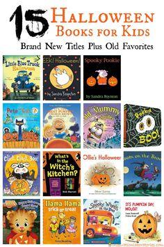 15 Halloween Books f