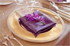 purple-wedding-napkin