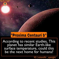 Researchers at European Southern Observatory suggest that Proxima b is about 20 times closer to its star than Earth is to the Sun, but the amount of radiative energy which the planet receives from its star is comparable to what Earth receives from Sun. The researchers therefore tend to believe that located in Proxima Centauri, Proxima B's surface temperature would be similar to that of the earth, and added with life-supporting atmospheric stimulus it could well enable the flourishing of…