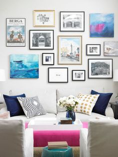 My Colourful House! - traditional - living room - toronto - Vanessa Francis
