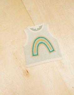 MICAELA GREG Knit Rainbow Tank | petitfauve.com