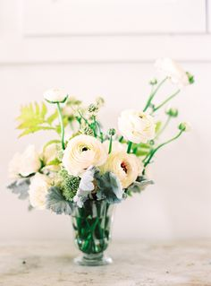 Sarah Winward   Spring Ranunculus   Jen Huang Photo   simple wedding colors and decors and flowers