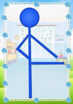 Yoga For Kids, Diy For Kids, Working Memory, Preschool, Symbols, Letters, Crafts, Facebook, Body Movement