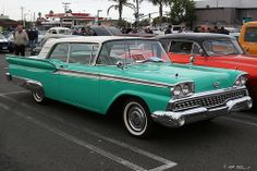 1959 Ford - turquoise - fvr