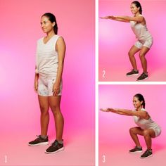 how to do a real, no cheating squat