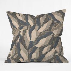 Gabriela Fuente Fuzz Throw Pillow | DENY Designs Home Accessories