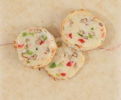 Santa's Whiskers refrigerator Christmas cookies :http://www.epicurious ...
