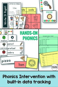 Are you looking for a phonics resource to reinforce the tricky schwa sound? This set is FULL of hands-on, engaging activities to support your small groups!