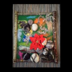 """Items similar to Felted picture in Norwegian style """"Norwegian wild nature"""". Wool and Handmade. Wall decoration from Norway on Etsy Norwegian Style, Felt Pictures, Norway, Unique Jewelry, Handmade Gifts, Painting, Etsy, Vintage, Home Decor"""