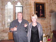 """""""Mein Haus ist meine Burg - mein Garten mein Paradies und meine Frau das wertvollste was ich besitze"""" hier in einer Burg in Essex"""