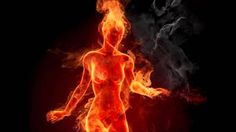 Woman On Fire Android Wallpaper Dark Fantasy, Fantasy Art, Transférer Des Photos, Flame Art, Fire Element, Hot Flashes, Fire And Ice, Erotic Art, Photography