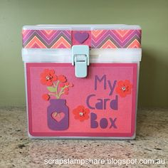 Scrap Stamp Share: My Card Box