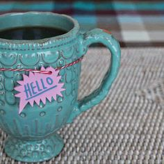 Teşvikiye - Home, hello sunday Mug: Anthropologie