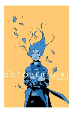 Review of The October Girl comic book from Monkeybrain Comics