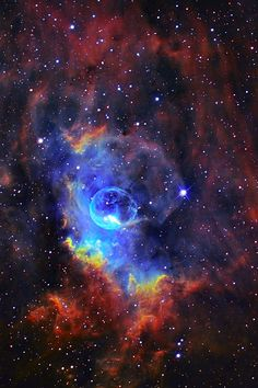 The Bubble Nebula (NGC 7635). #nebula