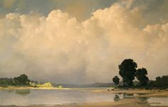 oil by Pierre de Clausade