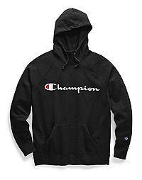 Champion Women's Plus Powerblend® Fleece Hoodie, Script Logo Champion Hoodie Women, Black Champion Hoodie, Champion Sweatshirt, Moda Aesthetic, Fleece Hoodie, Pullover, Champion Clothing, Carhartt Jacket, Carhartt Wip