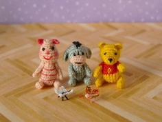 MUFFA Miniatures...so many cute Tiny Amigurumi!