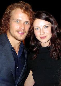 154 Best Caitriona Balfe and Sam Heughan images in 2019