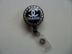 For my working life! Chanel Inspired Retractable ID Badge Reel by CoutureReels
