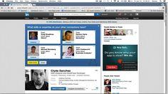 Tutustuimme ja loimme käyttäjätilit Linkediniin ja seurasimme erinlaisia käyttäjiä joista olimme kiinnostuneita