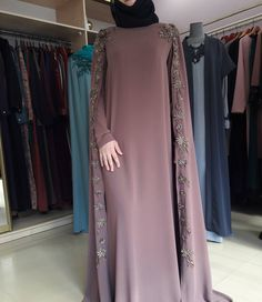 Give me pirce Modern Hijab Fashion, Arab Fashion, Islamic Fashion, Muslim Fashion, Modest Fashion, Fashion Dresses, Abaya Style, Dress Brukat, Hijab Evening Dress