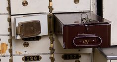 Find out which items to keep in a safe-deposit box, and what's best stored at home.