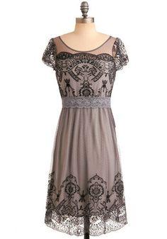 modcloth grace gardens dress