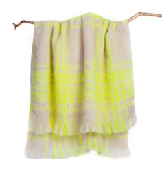 100% mohair throws from Gorman, all made in Melbourne in collaboration with local manufacturer St Albans.
