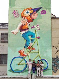 Street Mural, 3d Street Art, Street Artists, Graffiti Art, Dibujos Tattoo, Mural Art, Whimsical Art, Public Art, Medium Art