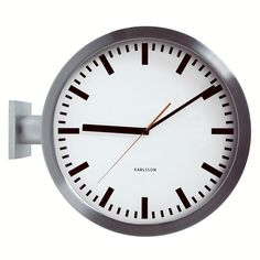 karlsson double sided wall clock