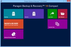 Paragon Backup and Recovery 14 Compact - бесплатная лицензия