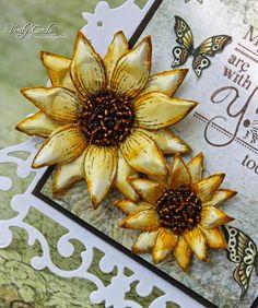 Verity Cards: Sunflower Tutorial