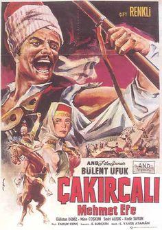 Türk Nostalji - Fotogaleri - Çakırcalı Mehmet Efe (1950) filminin afişi