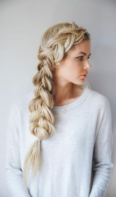 Braids can be added to your hair in many ways, whether it's a single French braid or if you make a crown braid for trendier office attire.