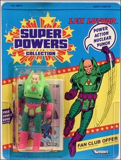 super powers lex luthor | Super Powers Collection Action Figures Lex Luthor by Kenner