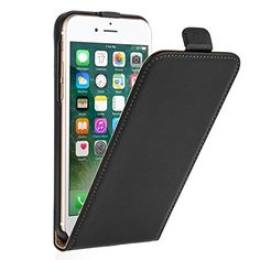 cool iPhone 7 Case, by Caseflex  Lightweight & Slim Flip Cover  - Exact Fit for iPhone 7 (2016 Model) Check more at http://forsaletoday.uk/shop/iphone-7/iphone-7-case-by-caseflex-genuine-leather-lightweight-slim-flip-cover-magnetic-clasp-exact-fit-for-iphone-7-2016-model/