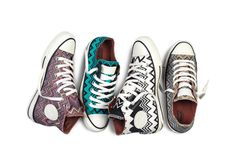 Missoni collaborates with Converse on limited edition sneakers