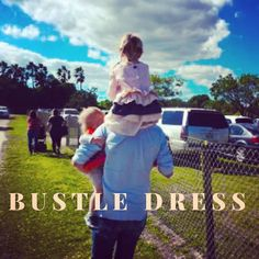 CUTIE IN OUR BUSTLE DRESS!! #childmagazine #hiphomeschoolmoms #countryfarmhouse #slowfashion #prairieoutfitters #slowfashion #slowparenting