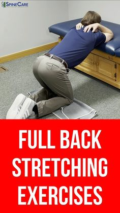 Middle Back Stretches, Lower Back Pain Exercises, Back Stretching, Lower Back Pain Relief, Hip Strengthening Exercises, Physical Therapy Exercises, Posture Exercises, Neck And Shoulder Exercises, Shoulder Workout