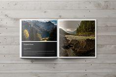 Square Portfolio Brochure Template on Behance