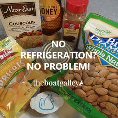 No Refrigeration On Your Boat Or RV Tent Camping Canoeing Dont Despair With These Tricks For Storing Food And A Bit Of Info About Meal Planning