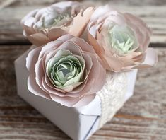 Paper Flower Tutorial - Ranunculus