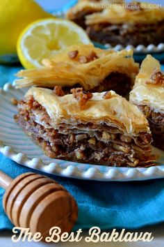 This Best Ever Baklava recipe is so easy! Yes, it can be laborious but be patient and you'll be rewarded with crispy, crunchy, gooey, and sticky baklava bursting with honey syrup, flaky phyllo, and spiced nuts!