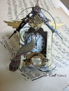 Time Flies by Jill McCall for Paper Whimsy Inspire