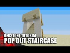 Minecraft: Pop Out Staircase Wide)